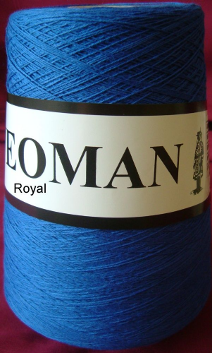 Yeoman Soft Cotton Yarn 2ply - Royal